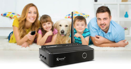 xtreamer player multimediale